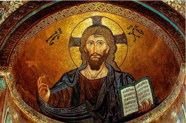 Christ pantocrator cefalu