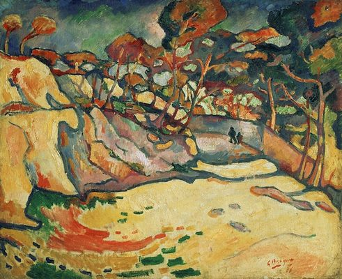 Georges braque estaque