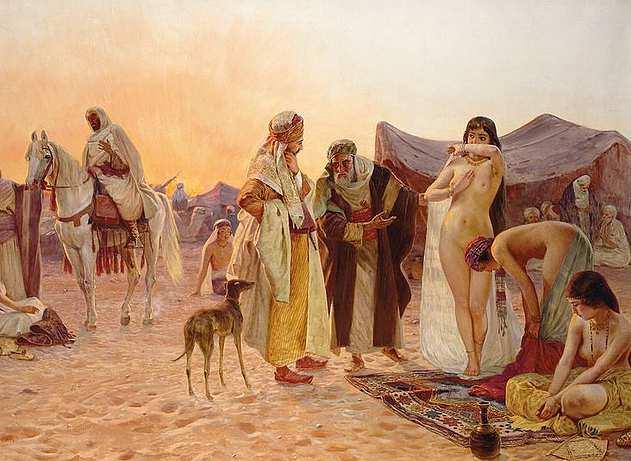Image esclavage et islam