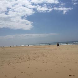 La plage du Grand Crohot, Gironde