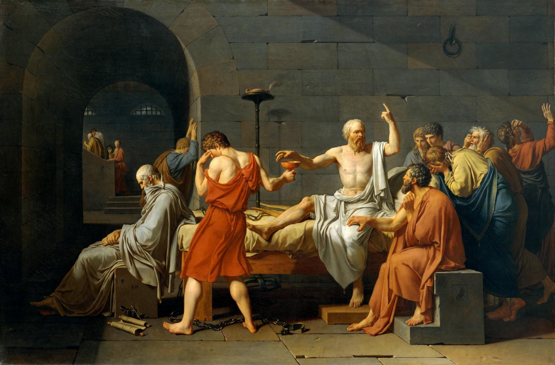 Socrate par david